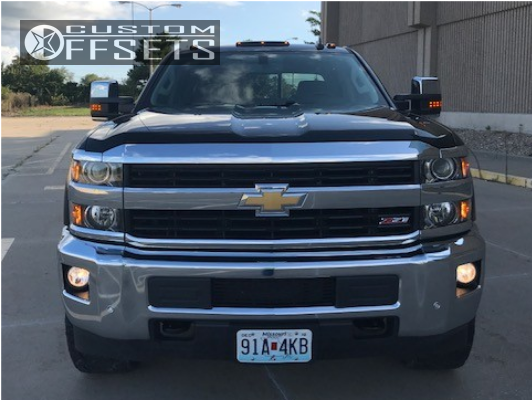 2 2016 Silverado 2500 Hd Chevrolet Zone Leveling Kit Hostile Alpha Chrome