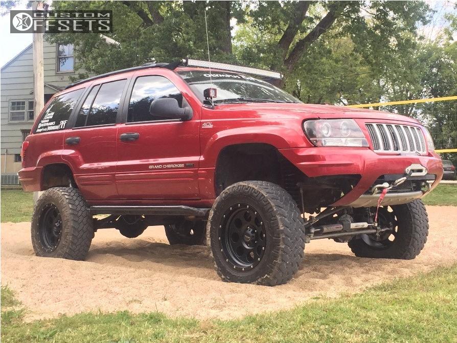 2004 Jeep Grand Cherokee Pro Comp Series 45 Iron Rock Offroad