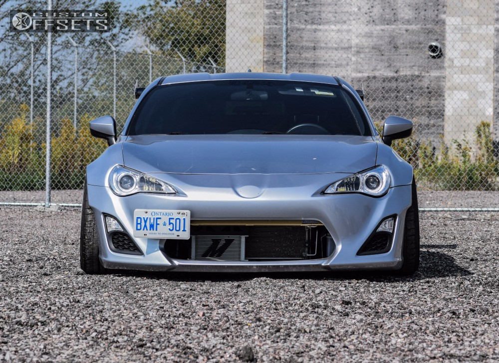 2015 scion fr s forgestar cf5v airlift bagged. Black Bedroom Furniture Sets. Home Design Ideas