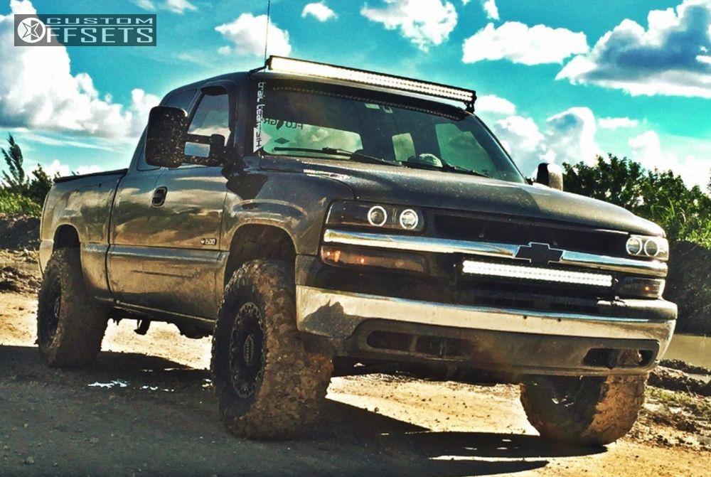 2000 Chevrolet Silverado 1500 Gear Alloy Black Jack Pro Comp