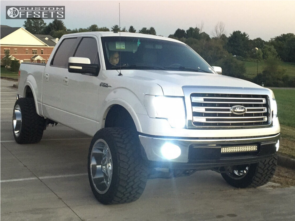 1 2013 F 150 Ford Rough Country Suspension Lift 6in Rbp Glock Chrome
