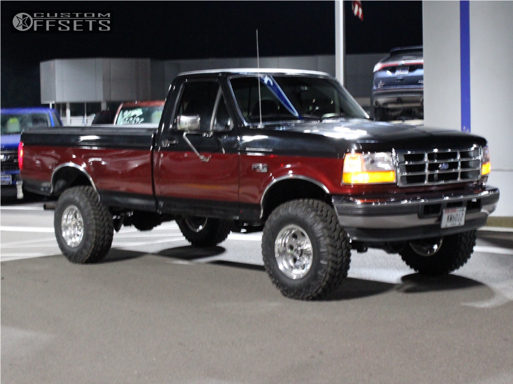1996 Ford F 150 American Racing Baja Rough Country Suspension Lift