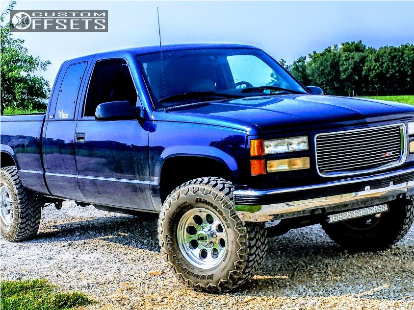 1996 Gmc K1500 Mickey Thompson Classic Iii Stock Leveling Kit