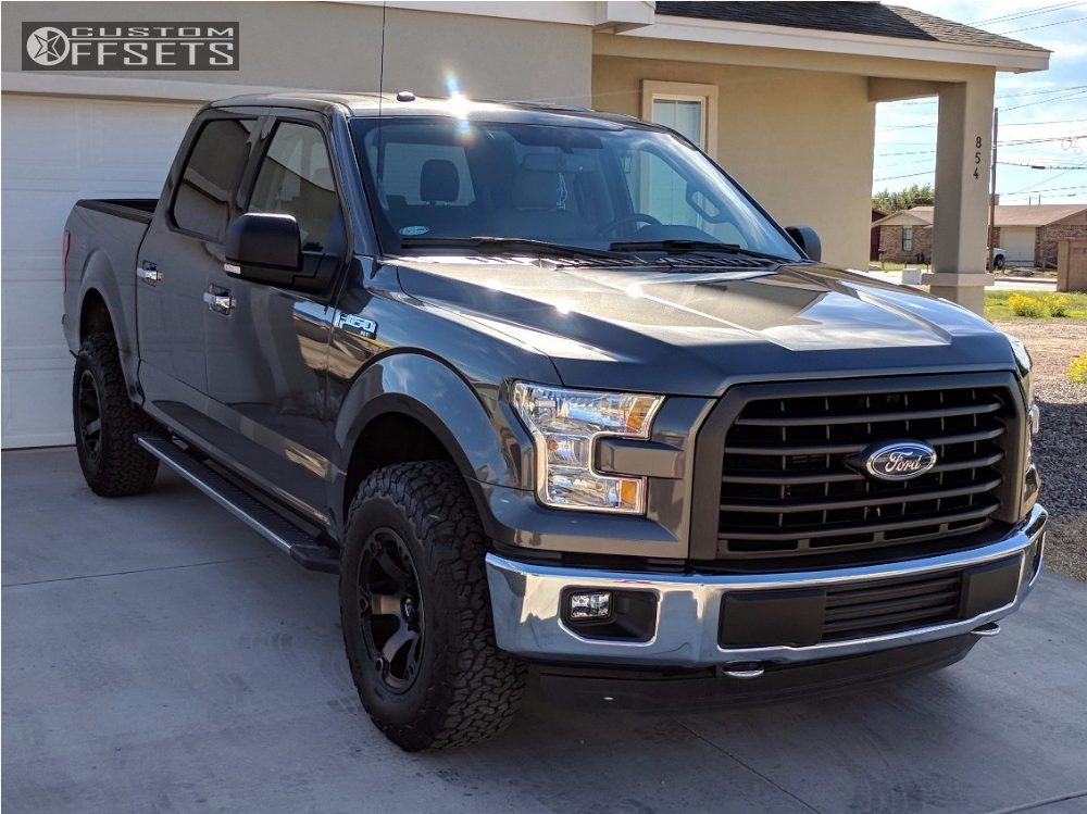 1 2016 F 150 Ford Stock Stock Fuel Beast Machined Black