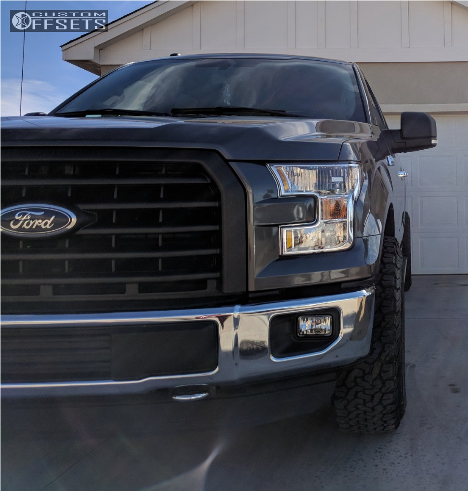 11 2016 F 150 Ford Stock Stock Fuel Beast Machined Black