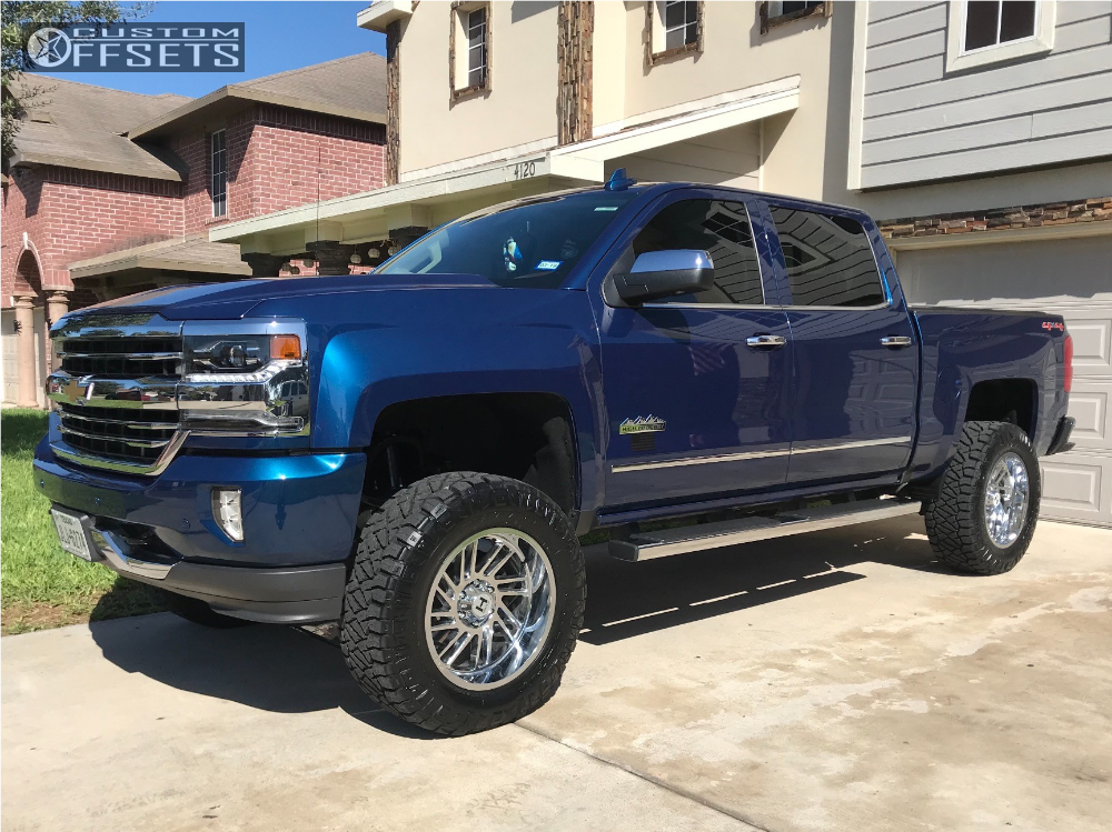 1 2017 Silverado 1500 Chevrolet Fab Tech Suspension Lift 6in Hostile Stryker Chrome