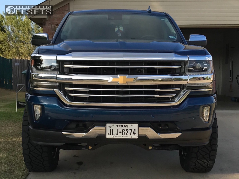 2 2017 Silverado 1500 Chevrolet Fab Tech Suspension Lift 6in Hostile Stryker Chrome