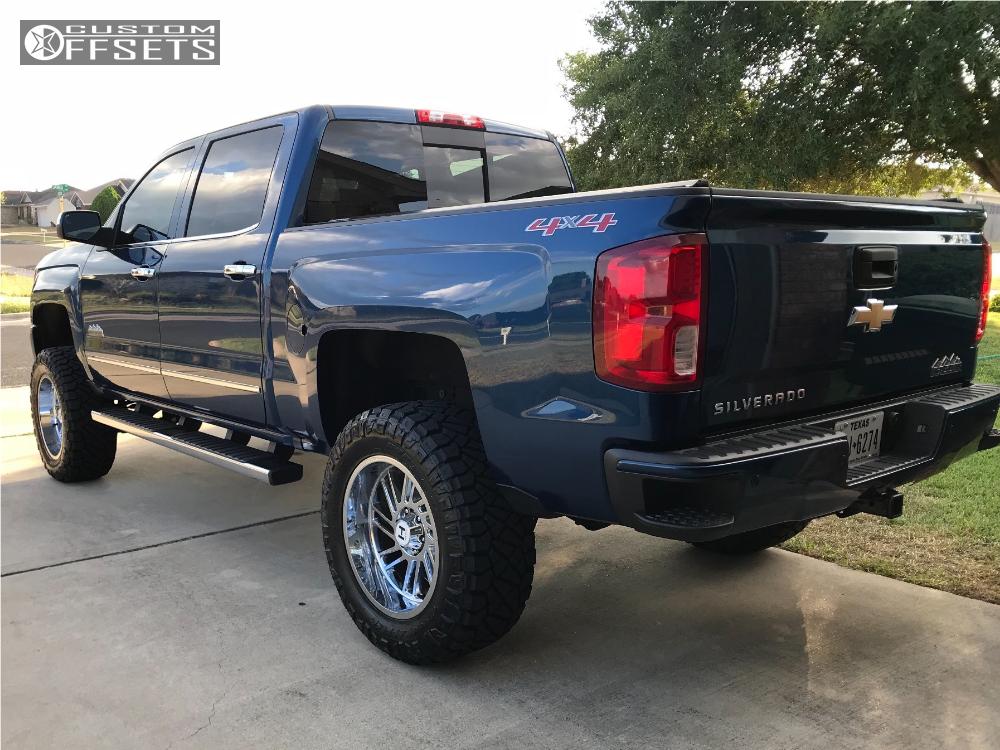 3 2017 Silverado 1500 Chevrolet Fab Tech Suspension Lift 6in Hostile Stryker Chrome