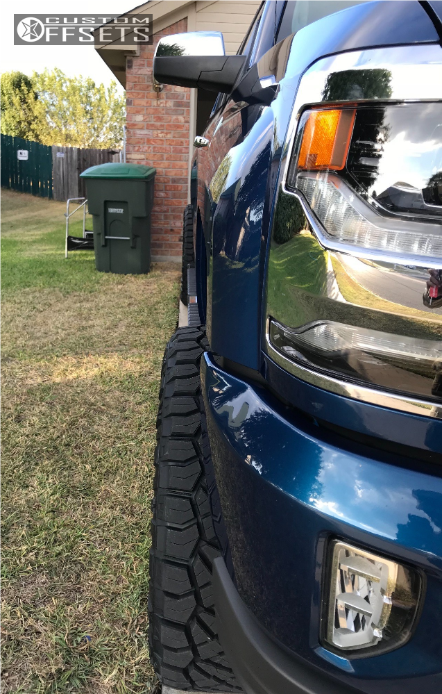 4 2017 Silverado 1500 Chevrolet Fab Tech Suspension Lift 6in Hostile Stryker Chrome