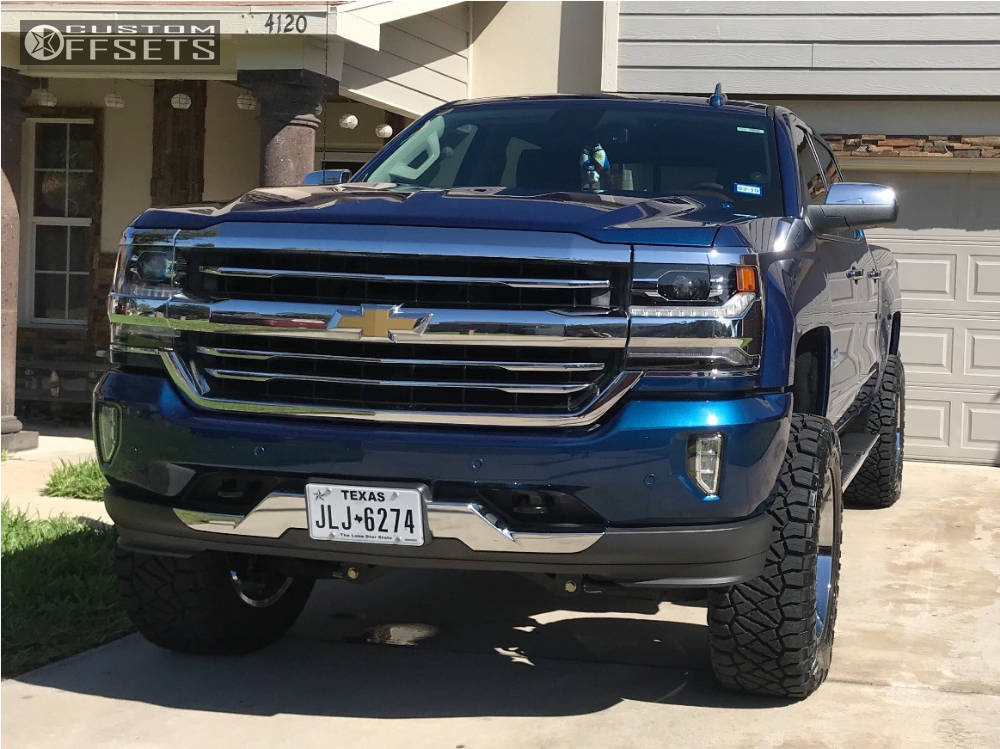 5 2017 Silverado 1500 Chevrolet Fab Tech Suspension Lift 6in Hostile Stryker Chrome