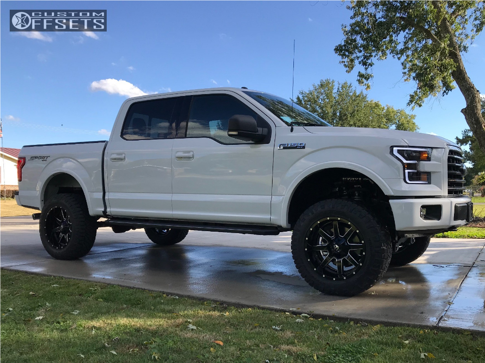 2017 Ford F150 Lifted >> 2017 Ford F 150 Fuel Maverick Bds Suspension Suspension Lift 4in