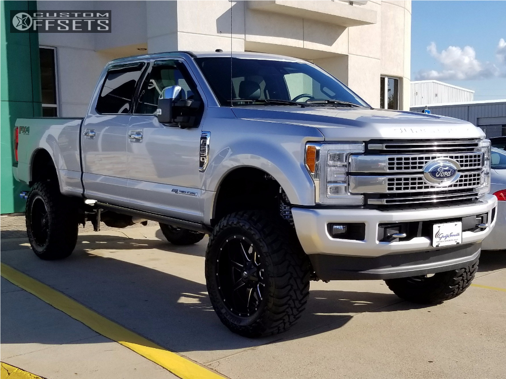 2017 F250 Lifted >> 2017 Ford F 250 Super Duty Fuel Maverick D538 Bds Suspension