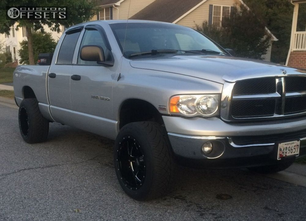 2005 dodge ram 1500 moto metal mo962 supreme suspension. Black Bedroom Furniture Sets. Home Design Ideas