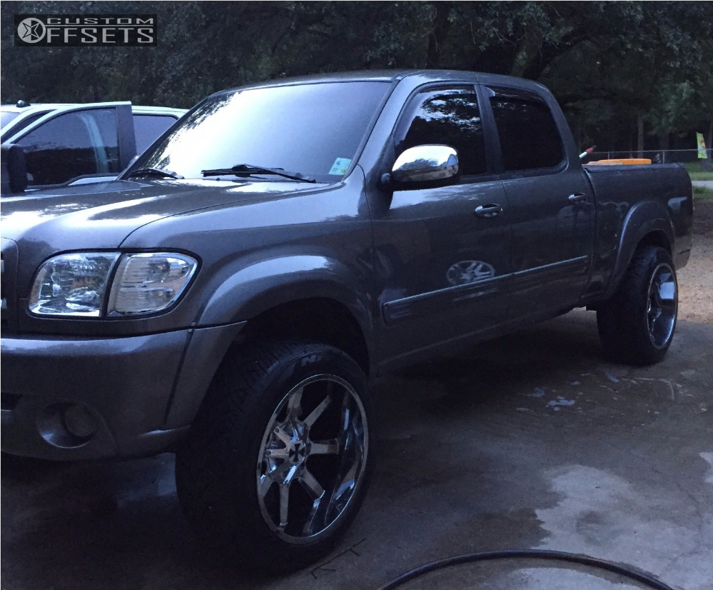 Wheel Offset 2004 Toyota Tundra Aggressive 1 Outside Fender ...