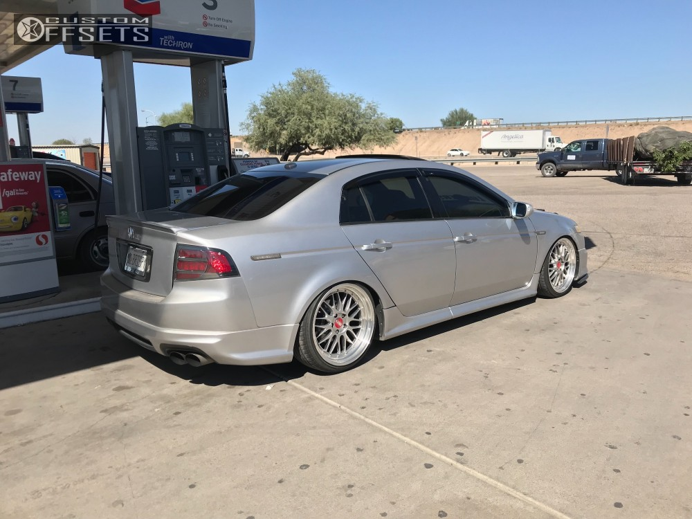 2007 Acura Tl Euro Tek Uo3 Isc Coilovers