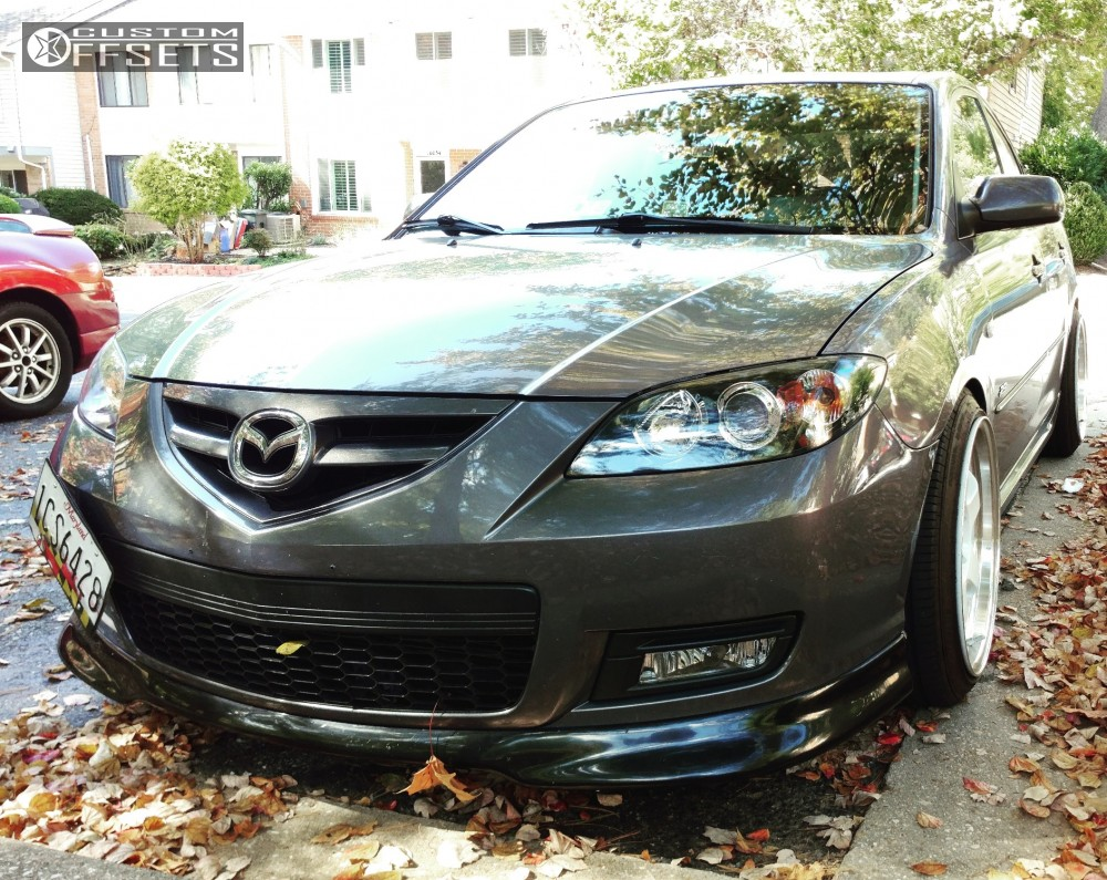 2008 mazda 3 sport varrstoen es6 raceland coilovers. Black Bedroom Furniture Sets. Home Design Ideas