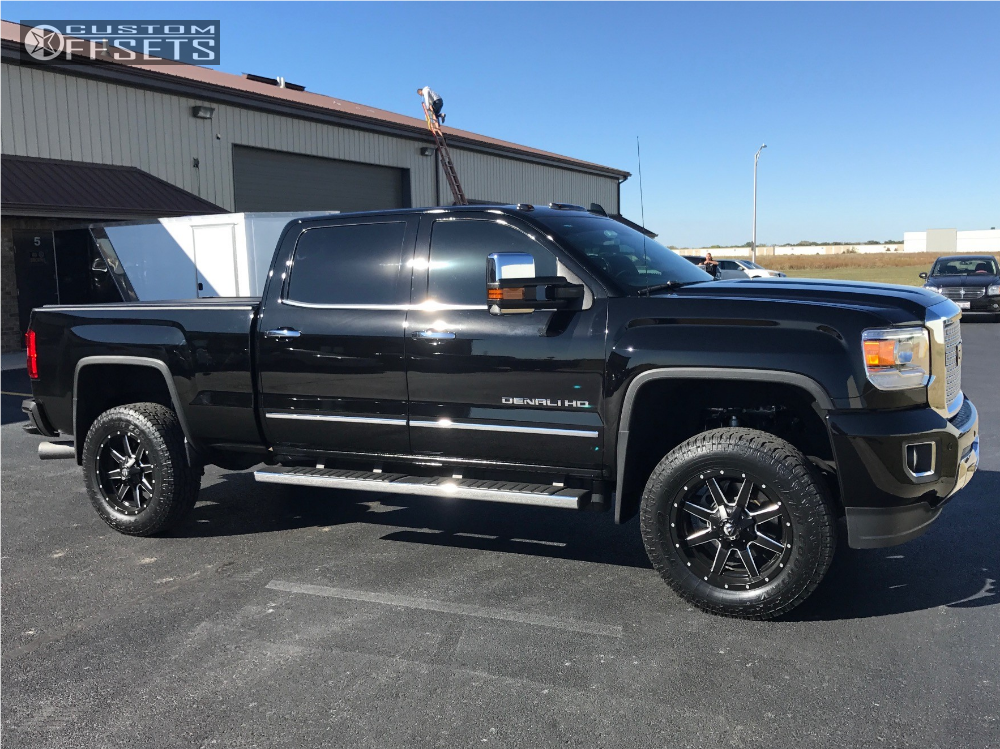 2016 gmc sierra 2500 hd fuel maverick rough country. Black Bedroom Furniture Sets. Home Design Ideas
