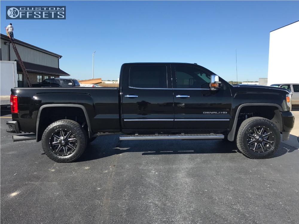 20 Gmc Wheels >> 2016 Gmc Sierra 2500 Hd Fuel Maverick Rough Country Leveling Kit