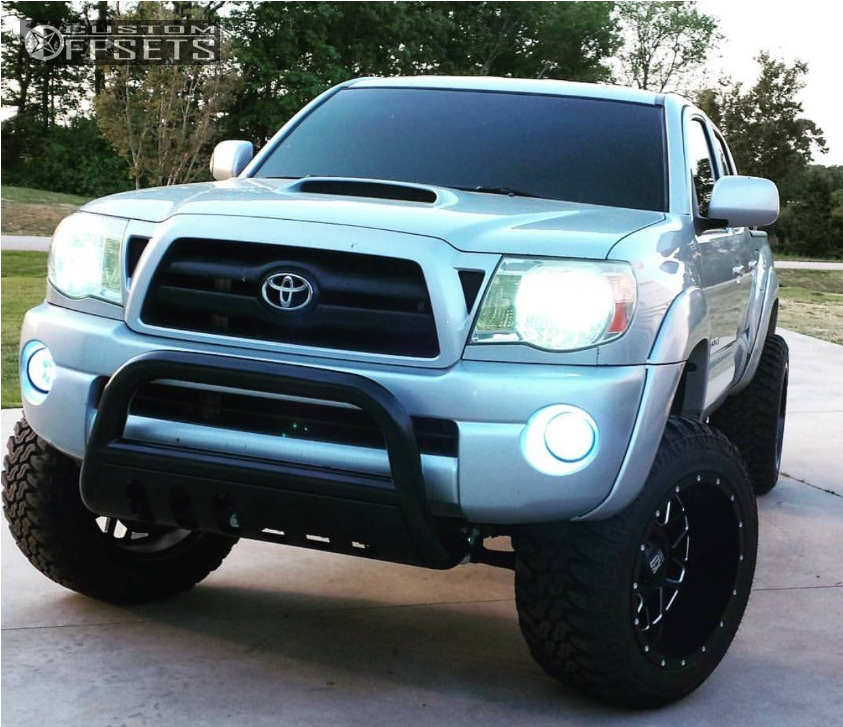 1 2006 Tacoma Toyota Air Lift Performance Suspension 4in Xd Xd820 Black