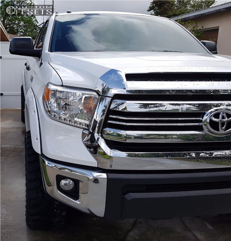 2 2017 Tundra Toyota Readylift Leveling Kit Hostile Blade Ss Machined Accents
