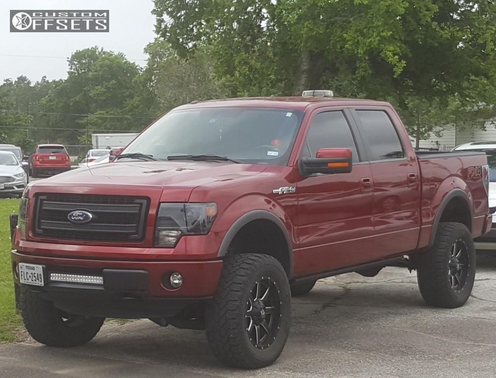 2014 Ford F150 Accessories >> 2014 Ford F 150 Fuel Maverick Pro Comp Suspension Lift 6in