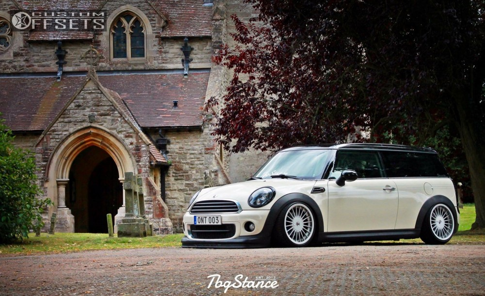 16 2012 Cooper Mini Air Lift Performance Bagged Alpina Classic C88 Other Silver