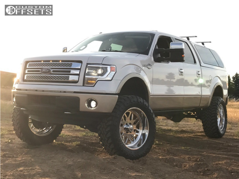 1 2014 F 150 Ford Stage 3 Motorsports Suspension Lift 8in American Force Trax Ss Polished