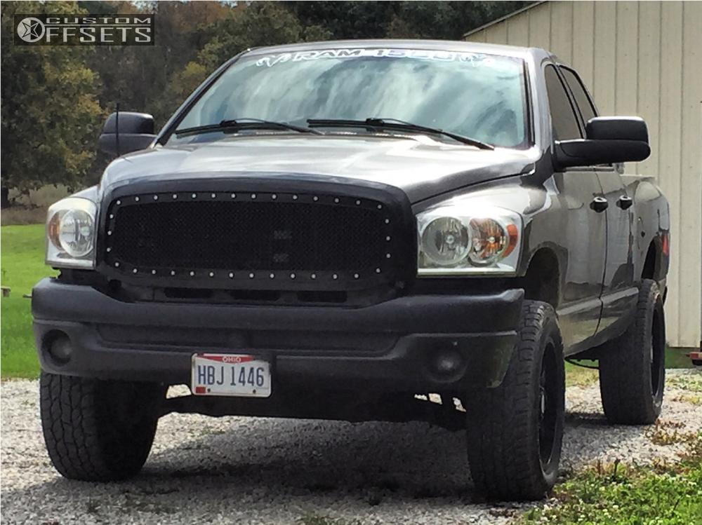 1 2008 1500 Dodge Summit Leveling Kit Body Lift Panther Offroad 579 Black