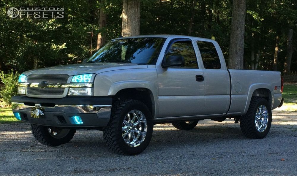 Silverado Leveling Kit Before And After >> 2005 Chevrolet Silverado 1500 Xd Badlands Leveling Kit Custom Offsets