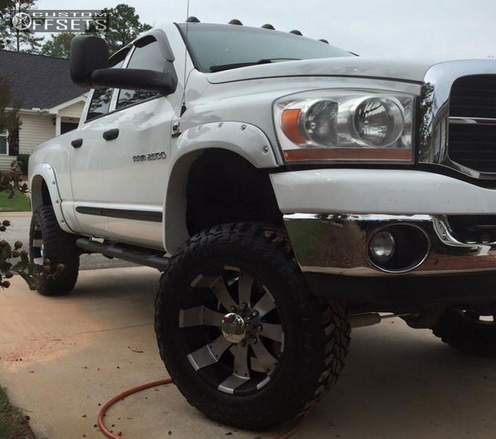 Rough Country 4wd Dodge Ram 2500 3500 Mega Cab 5 Lift: 2006 Dodge Ram 2500 Ultra Mako Rough Country Suspension