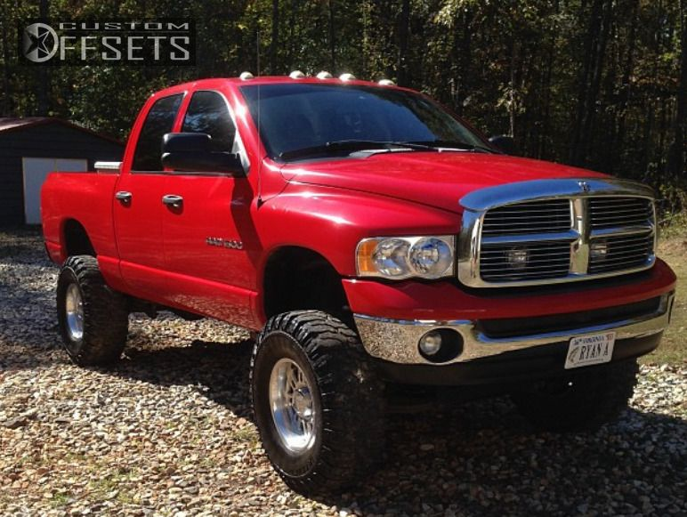 2872 2 2005 ram pickup 1500 dodge suspension lift 9 eagle alloy series 114 polished aggressive - Red 2005 Dodge Ram 1500 Lifted