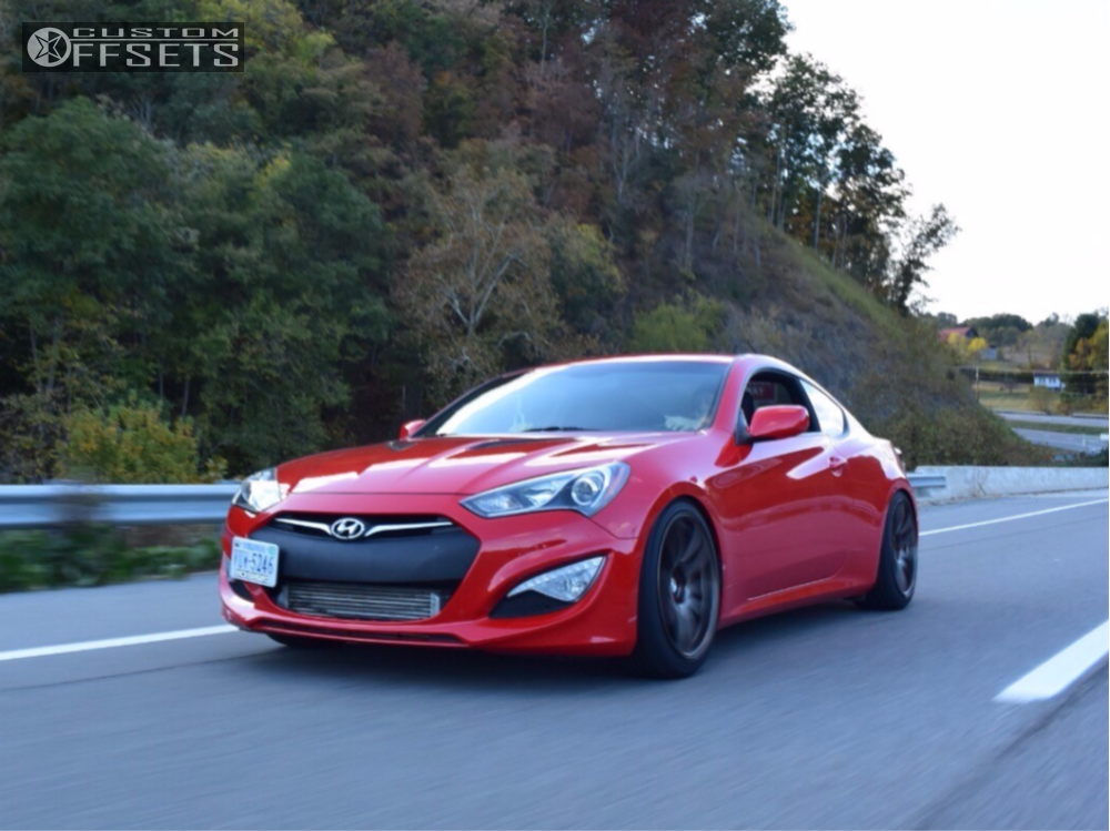 2014 hyundai genesis coupe esr sr08 bc racing coilovers. Black Bedroom Furniture Sets. Home Design Ideas