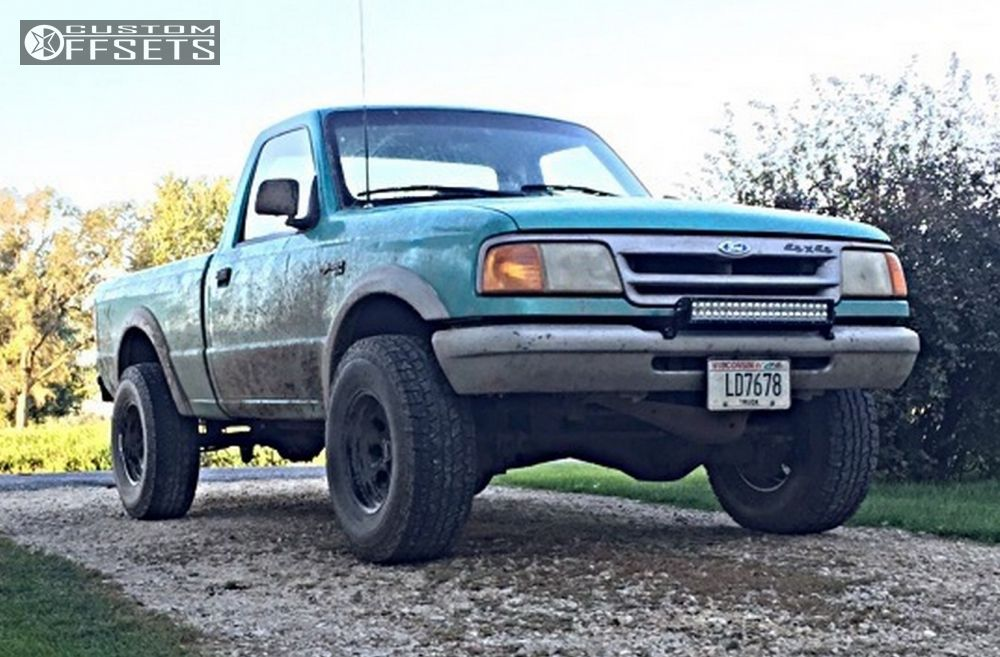 wheel offset 1993 ford ranger aggressive 1 outside fender leveling1 1993 ranger ford leveling kit cragar soft 8 black aggressive 1 outside fender