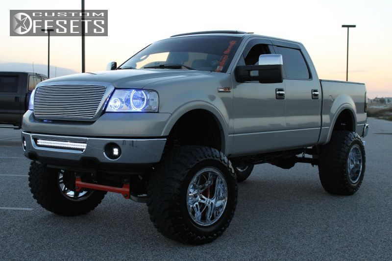 2006 Ford F 150 Fuel Hostage Pro Comp Lifted 9in Custom Offsets