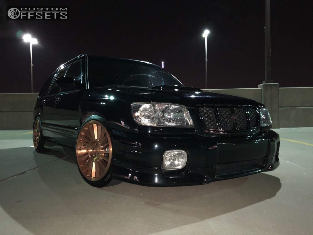 Subaru Financing Deals >> 2001 Subaru Forester Rotiform Ind T Tein Coilovers | Custom Offsets