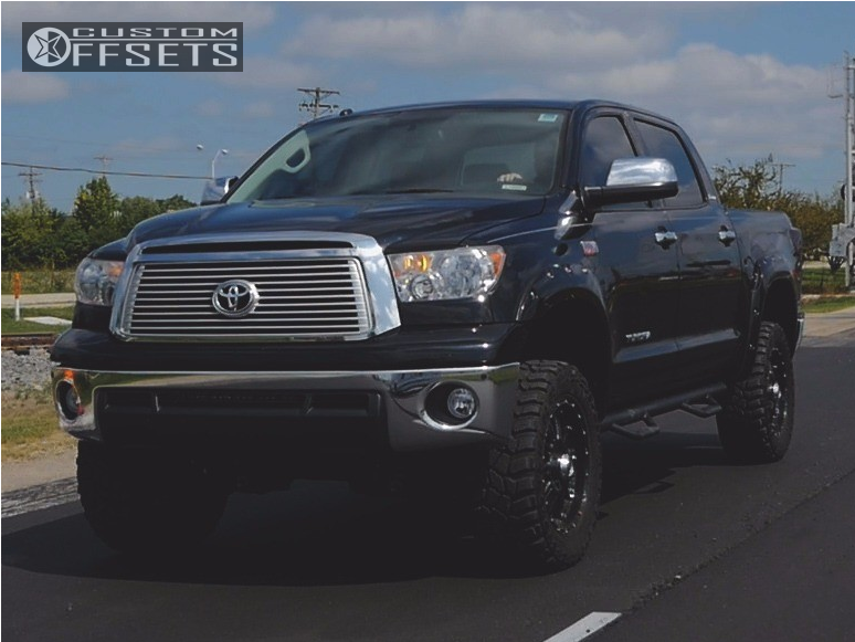 1 2013 Tundra Toyota Zone Suspension Lift 5in Xd Xd795 Black
