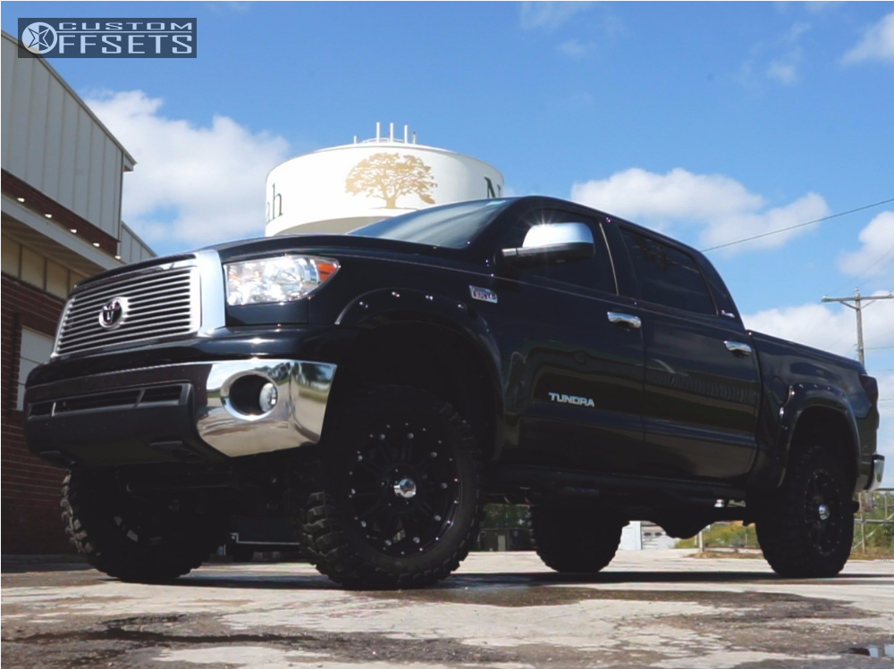 12 2013 Tundra Toyota Zone Suspension Lift 5in Xd Xd795 Black