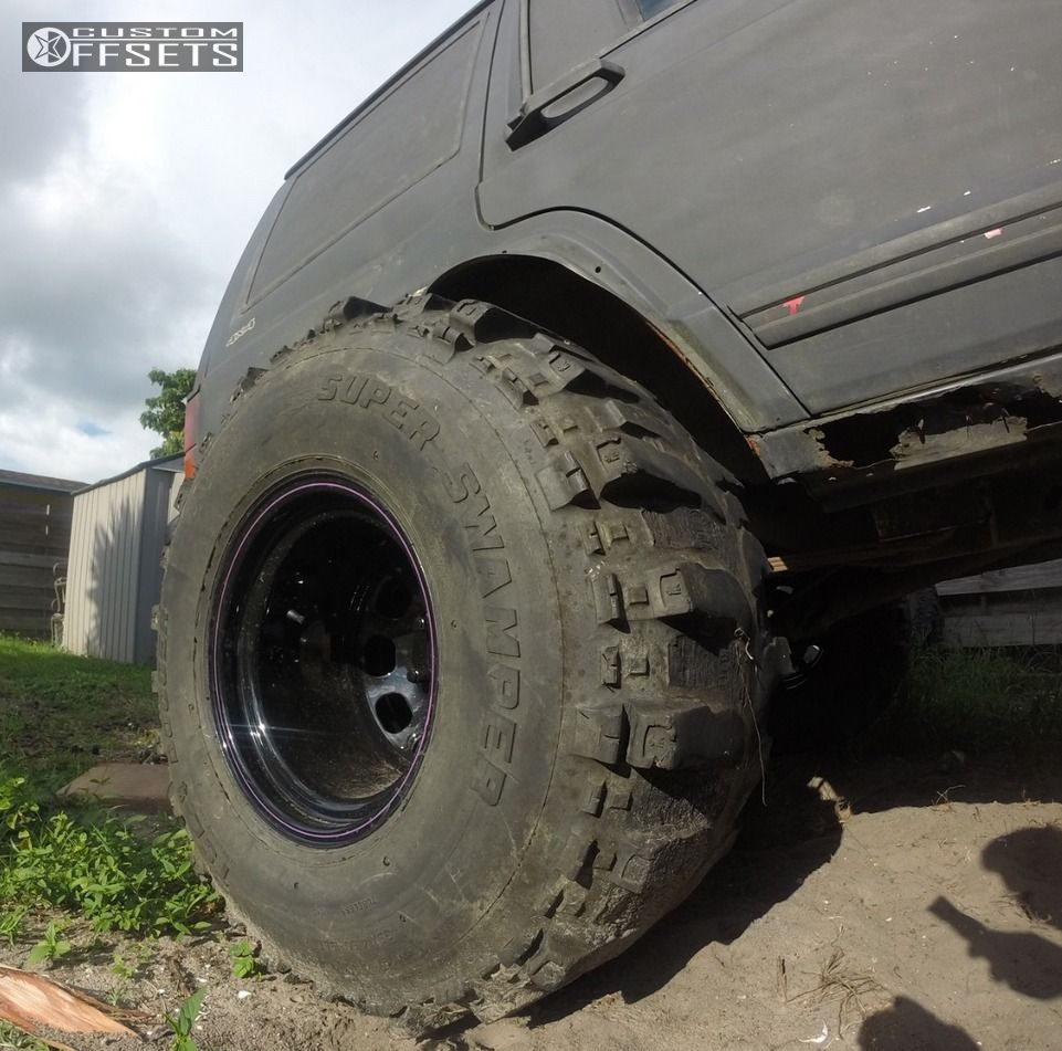 Wheel Offset 1994 Jeep Cherokee Hella Stance 5 Lifted 9
