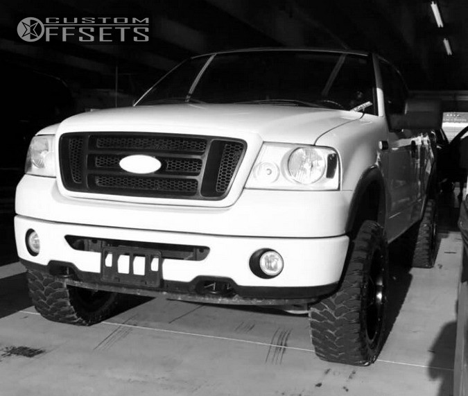 2009 Dodge Ram 2500 Gear Alloy Big Block Supreme: 2008 Ford F 150 Mayhem Tank Supreme Suspension Leveling Kit