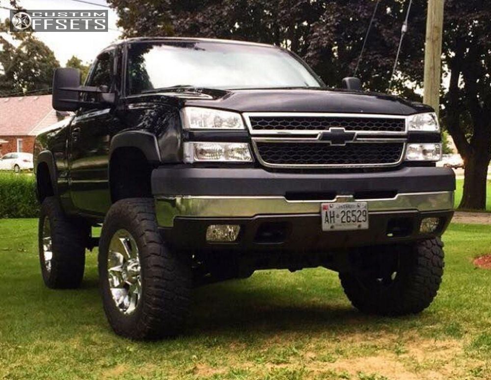 1 2001 Silverado 2500 Hd Chevrolet Suspension Lift 6 Mkw M19 Chrome Aggressive 1 Outside Fender