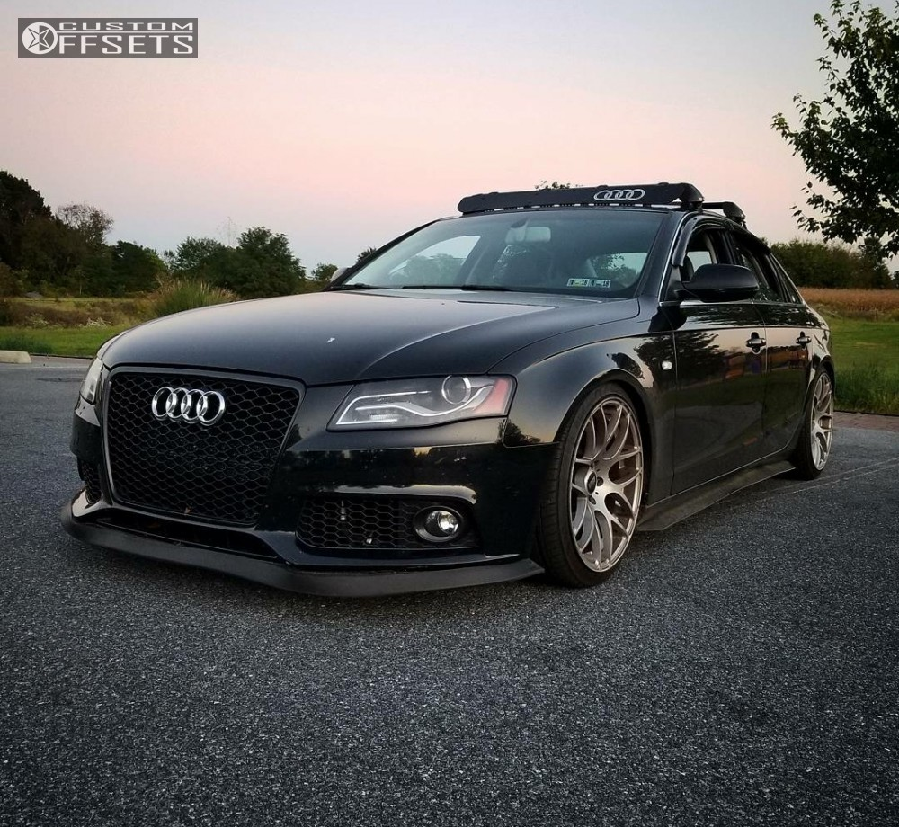 2010 Audi A4 Vmr V710 Wrd Coilovers Custom Offsets