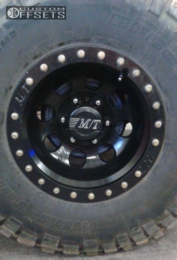 1995 Gmc K1500 Mickey Thompson Classic Baja Lock Tuff Country Suspension Lift 3 5 Custom Offsets