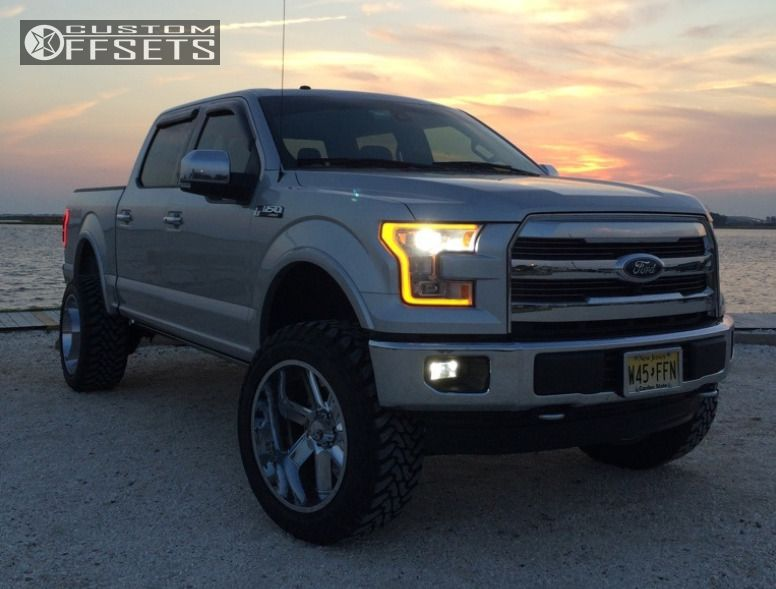 1 2015 F 150 Ford Suspension Lift 6 Hostile Switch Blade Chrome Super Aggressive 3 5