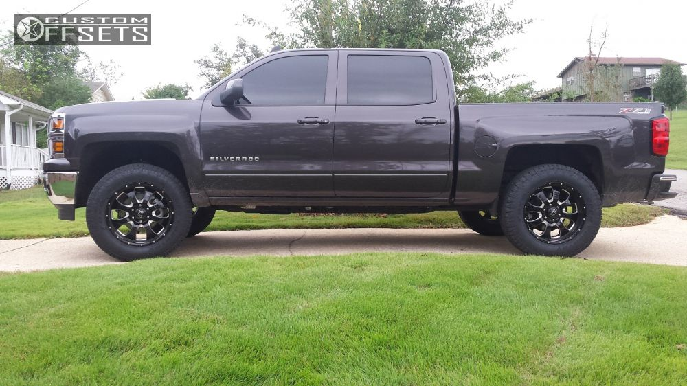 2015 Double Cab Silverado With Lift Kit And Tire Autos Post