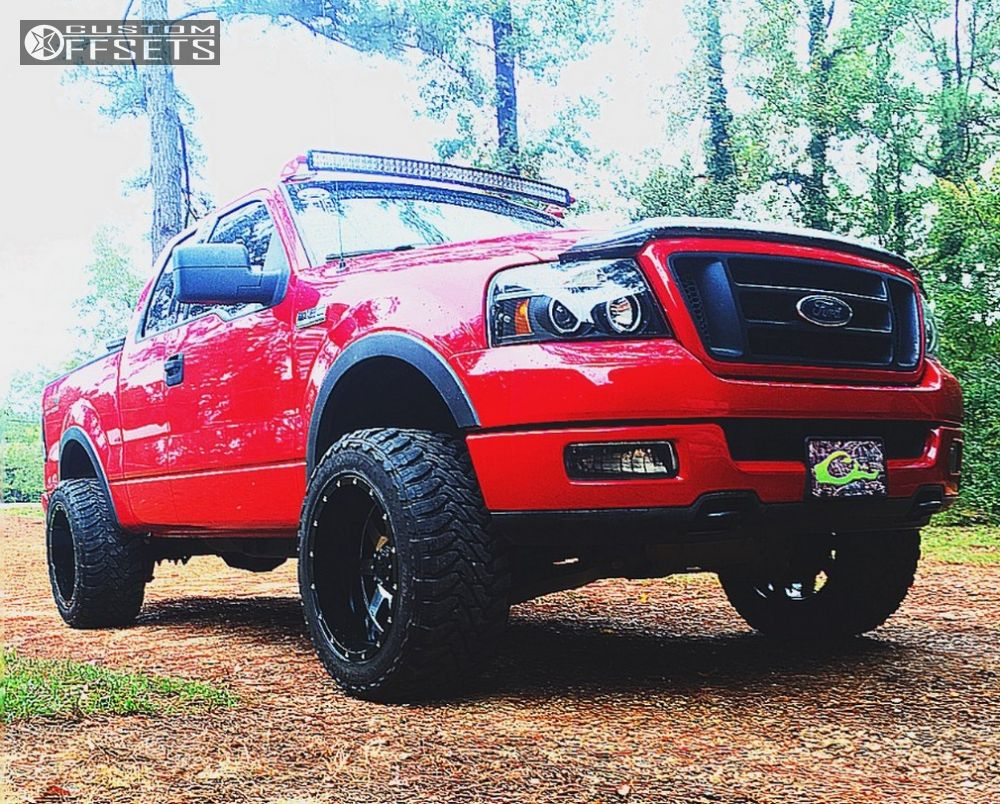 2004 Ford F 150 Gear Alloy Big Block Motofab Leveling Kit