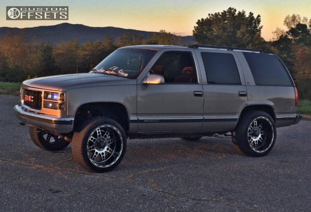 1 1999 Yukon Gmc Suspension Lift 3 Xd Diesel Machined Accents Aggressive Outside Fender