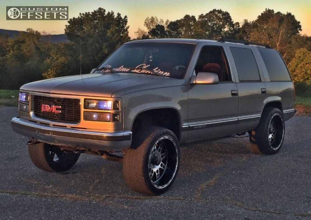 2 1999 Yukon Gmc Suspension Lift 3 Xd Diesel Machined Accents Aggressive 1 Outside Fender