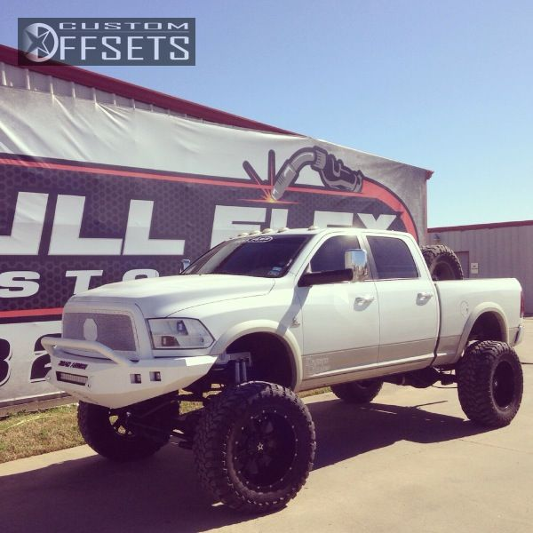 70 1 2013 2500 Ram Suspension Lift: Wheel Offset 2010 Dodge Ram Pickup 2500 Super Aggressive 3
