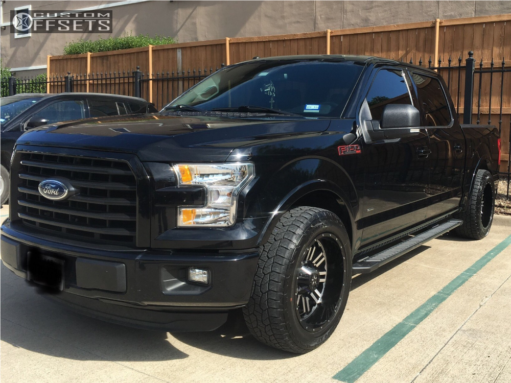 1 2016 F 150 Ford Crown Level 2in Drop Rear Dfd Other Machined Accents