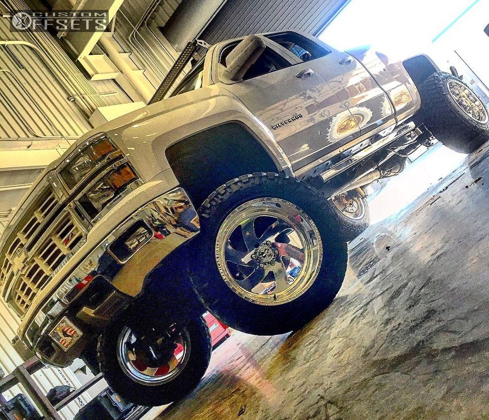 1 2014 Silverado 1500 Chevrolet Suspension 6 Body 3 American Force Blade Ss6 Polished Super Aggressive 3 5